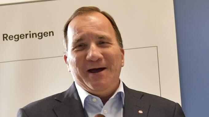 Statsministerns parti når nu över valresultatet för första gången sedan mars 2015 i Expressens och Demoskops mätning. Foto: JONAS EKSTRÖMER/TT / TT NYHETSBYRÅN