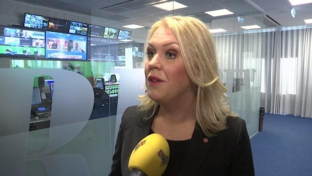 """Lena Hallengren: """"Ska försöka lyfta äldrepolitiken lite extra"""""""