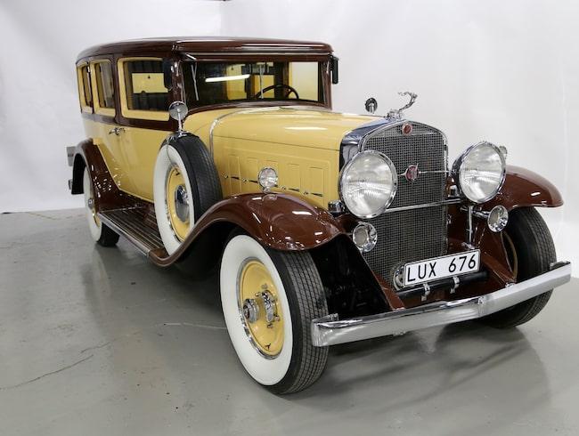 Cadillac V16 Imperial 4375 Fleetwood från 1930 – i väldigt bra skick.