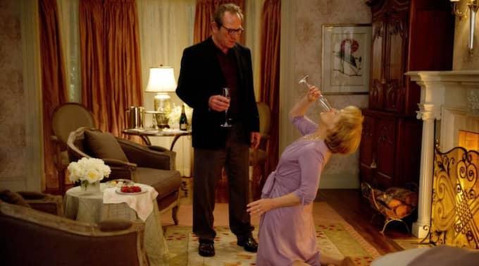 Tommy Lee Jones och Meryl Streep spelar äkta makar som åker på intensivkurs i parterapi. Foto: Planet Photos