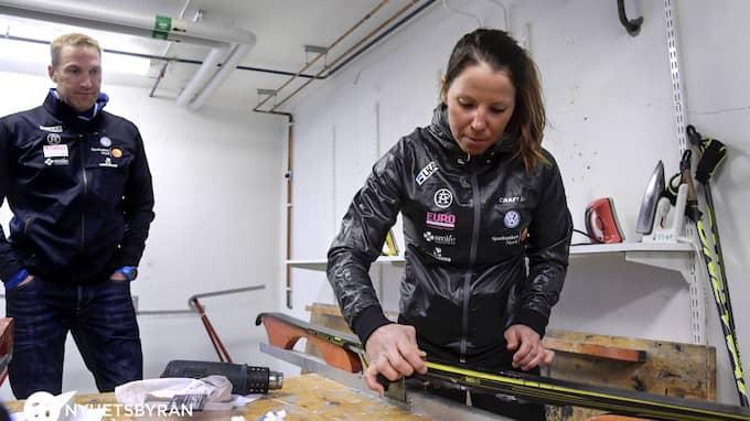 Magnus Ingesson är Kallas personliga tränare. Foto: ANDERS WIKLUND/TT