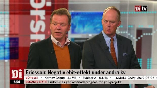 Petersson: Ericsson går på Trumps linje - lämnar Kina