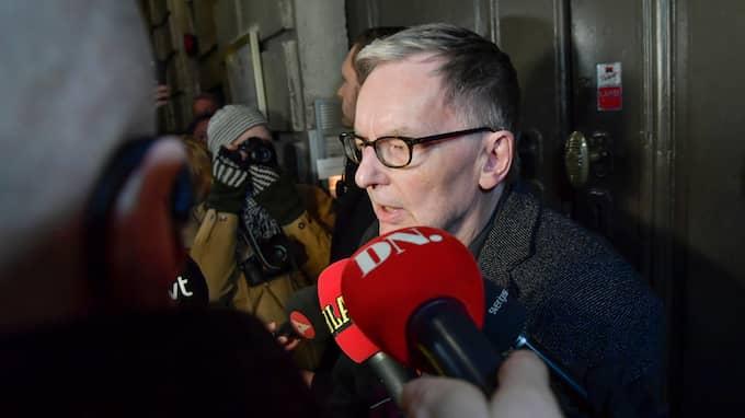– Jag tror att vi alla förstod allvaret, så vi var tvungna att ta en kompromiss, ett steg tillbaka, säger Anders Olsson, direktör för Svenska Akademien. Foto: JONAS EKSTRÖMER/TT / TT NYHETSBYRÅN