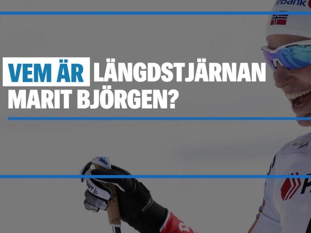 Vem är längdstjärnan Marit Björgen?