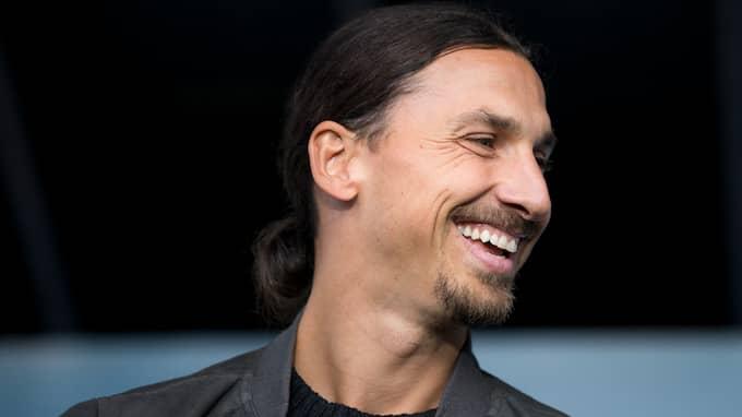 Zlatan Ibrahimovic. Foto: MICHAEL ERICHSEN / BILDBYRÅN