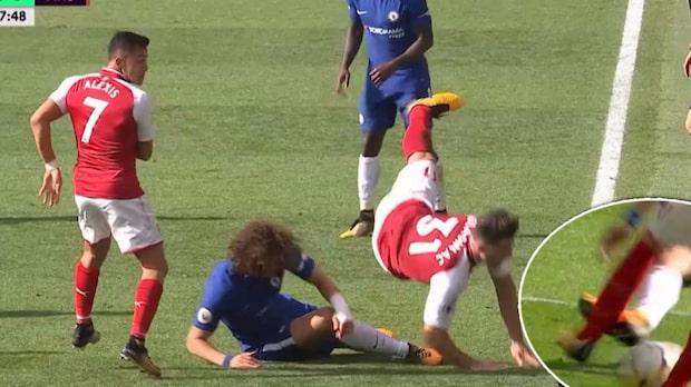 """Målklubben om Luiz överfall: """"Går in för att skada"""""""