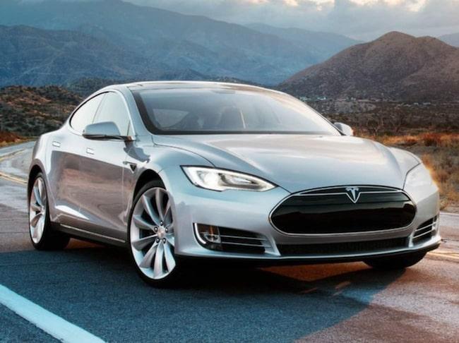 Sist på listan Hamnar Tesla.