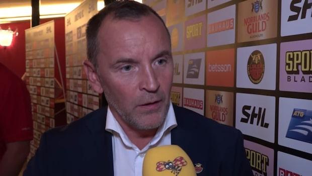 "Berglund: ""Laget har blivit starkare"""