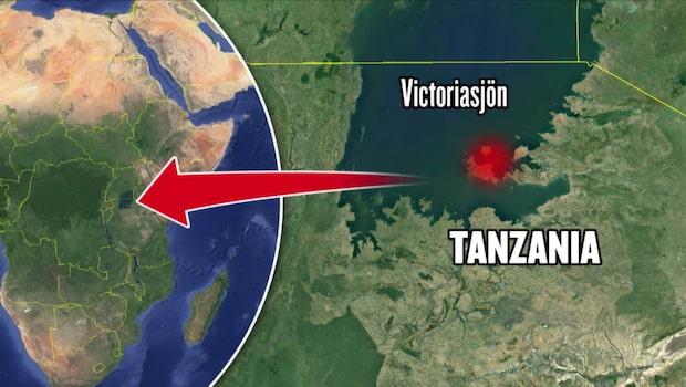 200 befaras döda i färjeolycka i Tanzania