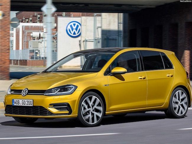 Volkswagen Golf är Sveriges mest sålda bil.