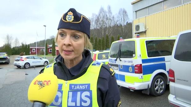 """Polisen om sökinsatsen vid sjön: """"Har framkommit uppgifter"""""""