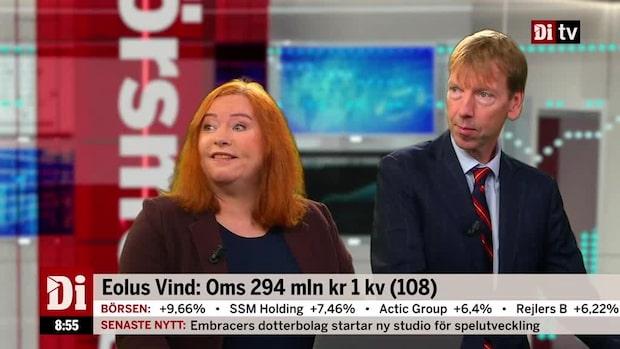 """Jönsson och Wellfelt om Eolus: """"Vind i seglet"""""""