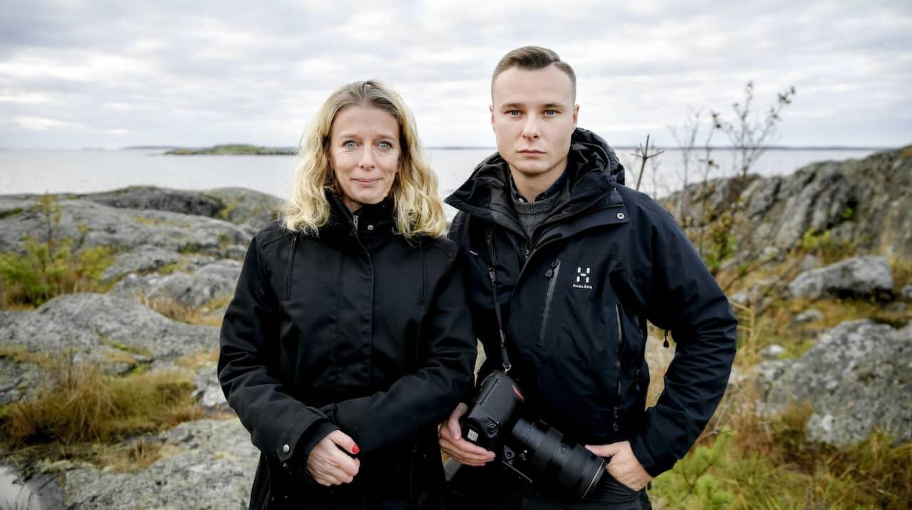 Åsa Asplid och Alex Ljungdahl