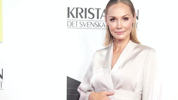 """Carina Berg om sonens födsel: """"Drömförlossning"""""""