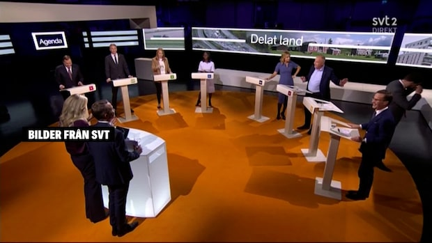"""Jimmie Åkesson lämnade debatten: """"Behövde ta paus"""""""