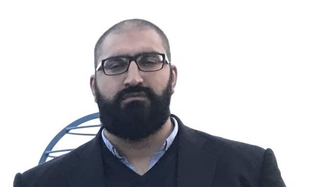 Hamid Zafar, rektor Sjumilaskolan, Göteborg