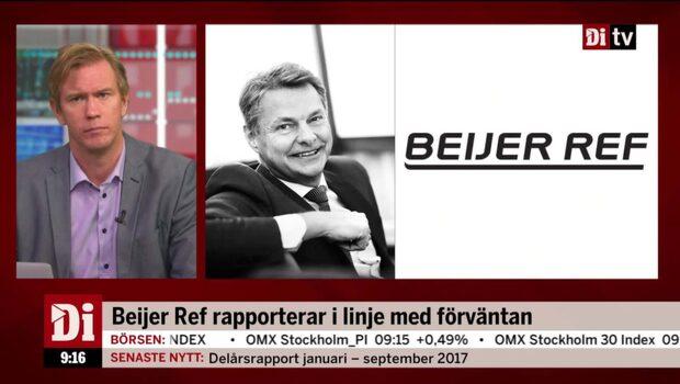 Beijer Refs vd Per Bertland om delårsrapporten