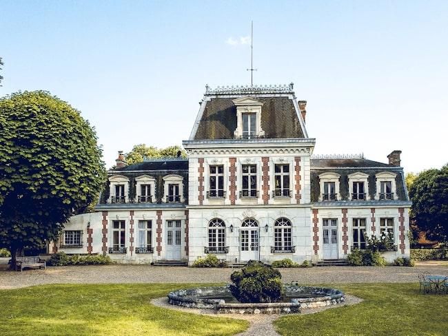 La Chauverie ligger bara två timmars bilväg sydväst om Paris (eller bara en dryg timme med tåget).