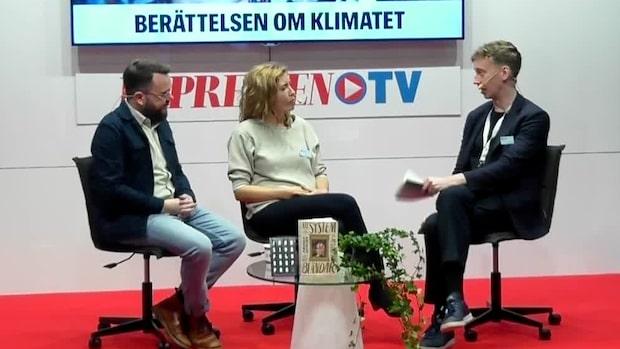 Samtal om vad litteraturen ska göra med klimatförändringarna