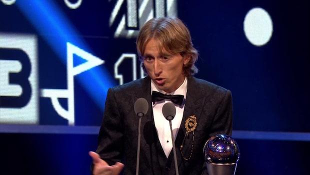 Modric och Marta utsedda till världens bästa fotbollsspelare