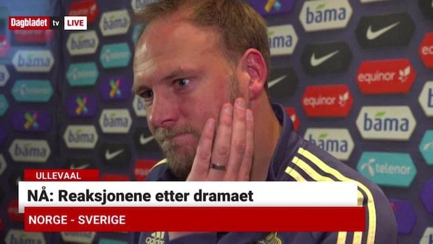 """Granqvist: """"Vi borde vunnit"""""""