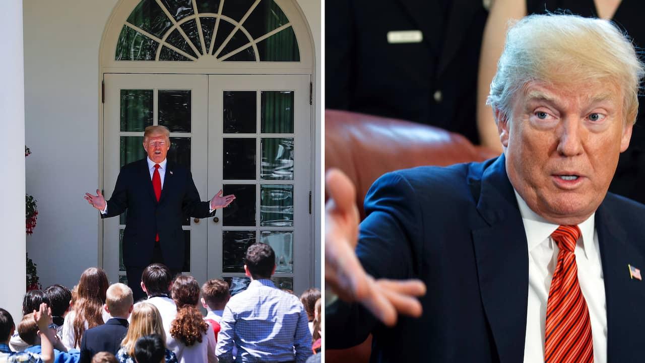 Trump upprepar logn for kongressens ledning