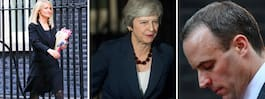 Brexit: Theresa Mays svarta torsdag - dubbla avhopp i protest