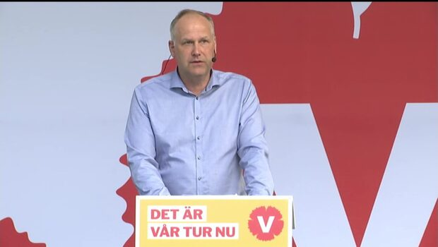 """Sjöstedt (V): """"Deras närvaro utgör ett konkret hot mot andra människor"""""""