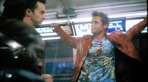 """Våld som hobby i filmen """"Fight Club"""" med Edward Norton och Brad Pitt."""