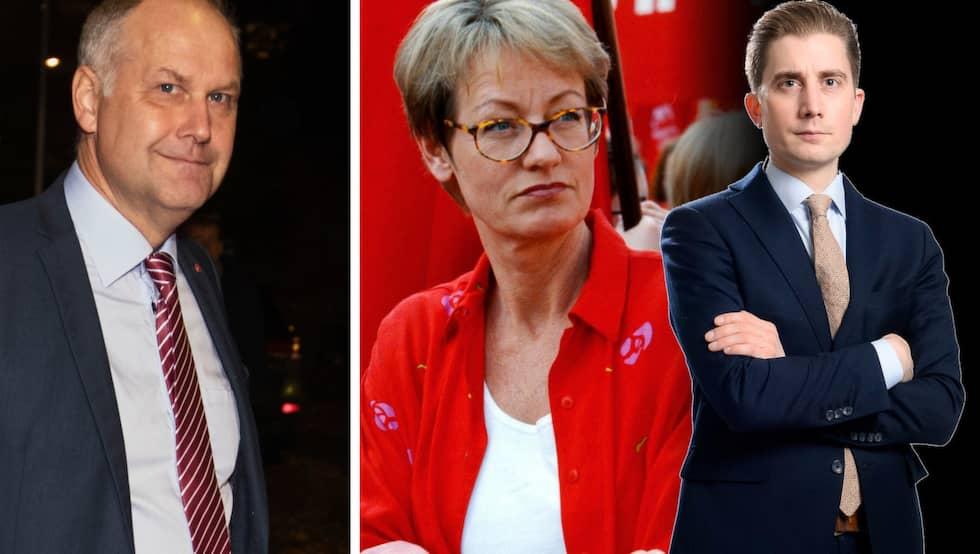 Expressens Torbjörn Nilsson skriver om Vänsterpartiet som nöjer sig med sina 8 procent i mätningarna.
