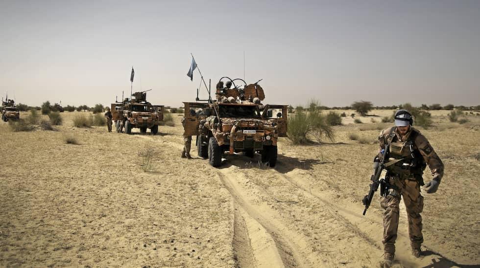 Soldaterna riktar stark kritik mot den svenska utrustningen. Foto: Annica Ögren