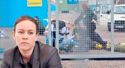 """INTRÅNG. Miljörörelsen Greenpeace gjorde intrång på Forsmark i går. Nu skriver Stefan Fölster att """"Som statsrådskandidater med ett stort inflytande i miljörörelsen borde det vara en självklarhet för Maria Wetterstrand (infällda bilden) och Peter Eriksson att i likhet med Mona Sahlin peka på det allvarliga i Greenpeace odemokratiska metoder."""