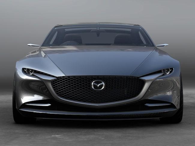 Mazdas konceptbil Vision Coupe Concept ger en indikation om hur tillverkarens kommande bilar ska se ut.