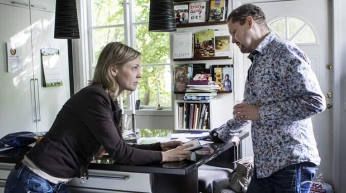 Victor Theander grundade tillsammans med sin fru Kicki matkasseföretaget Middagsfrid. Foto: Michaela Hasanovic