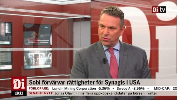 Sobis vd om Synagis-affären