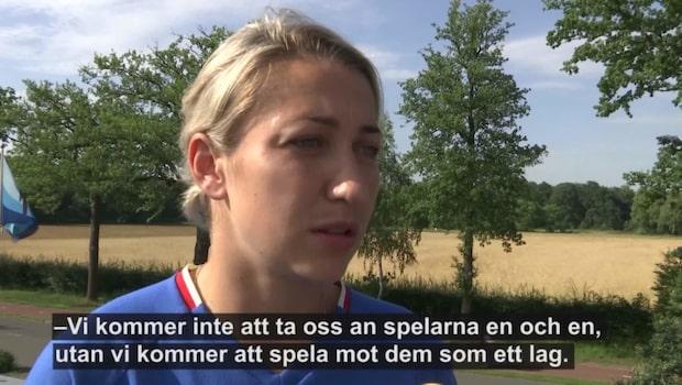 """Ryska stjärnan: """"Så ska vi slå Sverige"""""""