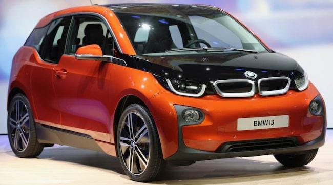 BMW i3 uppgraderas med ett bättre batteri.