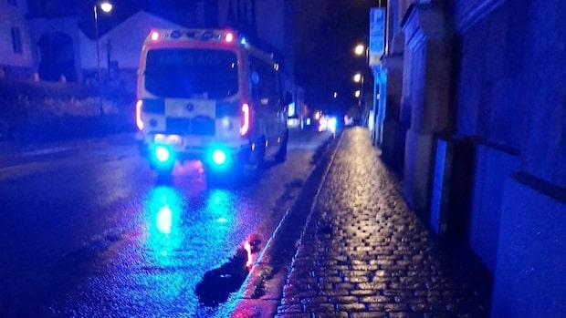 Kraftig smäll i centrala Stockholm