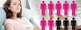 Därför är IBS vanligare hos kvinnor