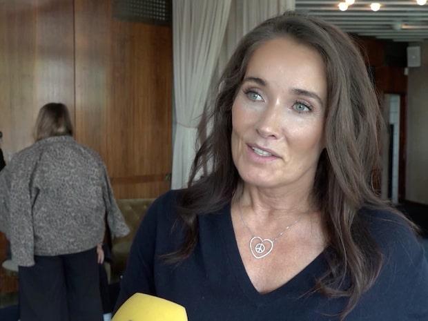 Agneta Sjödins tårar  – över dotterns ord