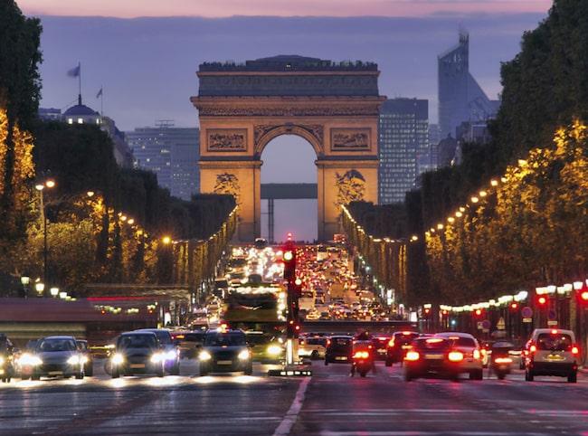 Paris borgmästare vill förbjuda dieselbilar i Paris.