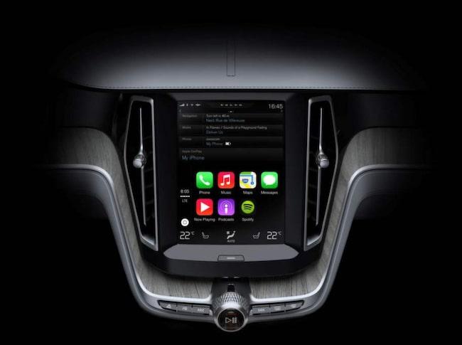Funktionerna från Apple kommer till Volvo med Apple Carplay.