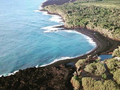 Hawaiis nya strand öppnade officiellt 6 januari.