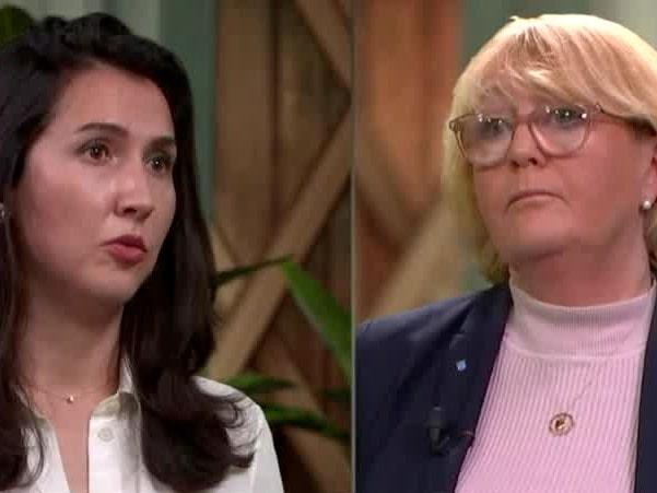Se hela debatten mellan Aida Hadzialic och Irene Svenonius