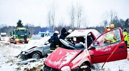 Malin Blom, 18, var på väg till sin praktikplats när bílen fick sladd och kolliderade med en mötande bil. Hennes liv gick inte att rädda. Foto: Alex Ljungdahl
