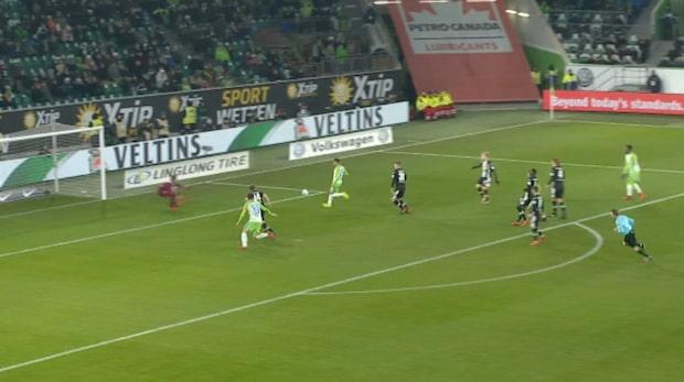Didavi med läcker chip i Wolfsburgs kross