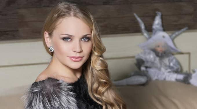 Sångerskan Alyona Lanskaya.