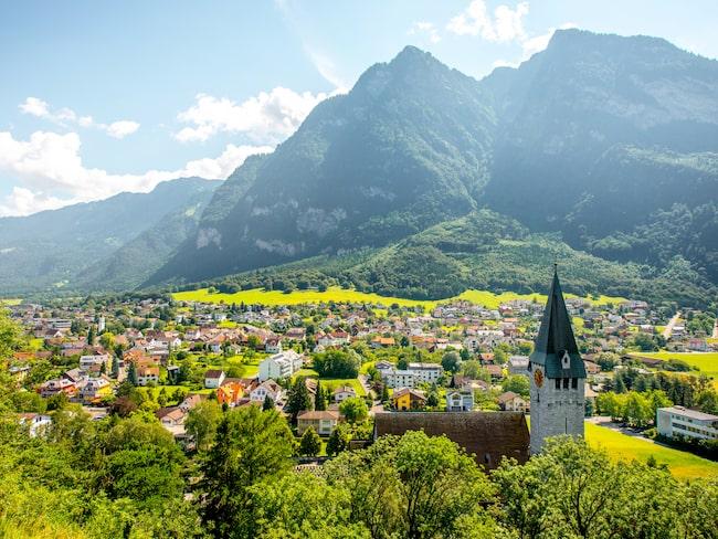 Balzers, både en ort och kommun i södra Liechtenstein.