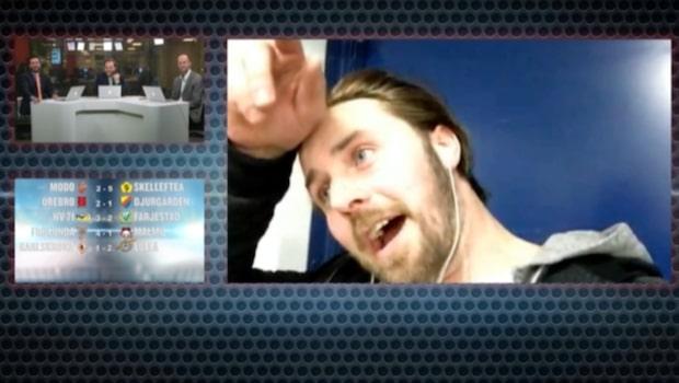 """KHL-stjärnan: """"Jag svettas som fan, kan vi vara klara nu?"""""""