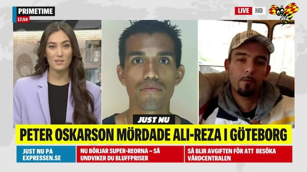 Peter Oskarson mördade försvunna Ali-Reza